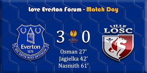 Everton v LOSC Lille