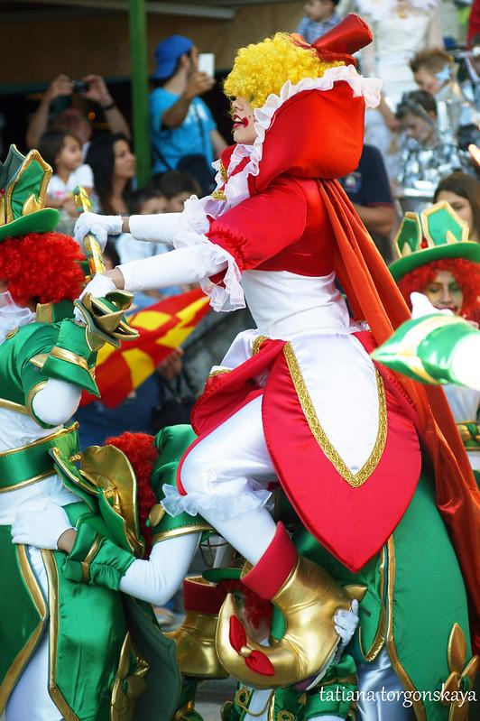 Карнавальная группа из Македонии