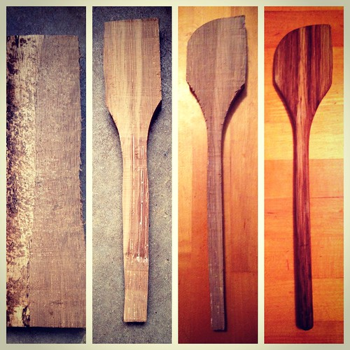From firewood to spoon