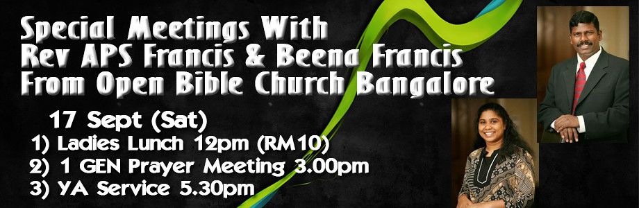 Special Meeting with Rev APS Francis & Beena …
