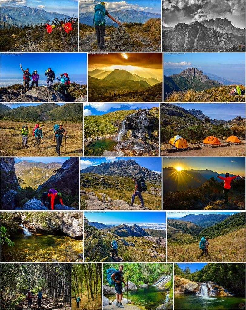 03 Travessia Transmantiqueira com o Clube Trekking Santa Maria RS