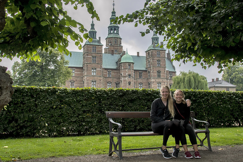 Chilling @ Rosenborg Castle