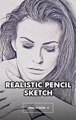 Gorgeous Pencil Drawing 2 Photoshop Action