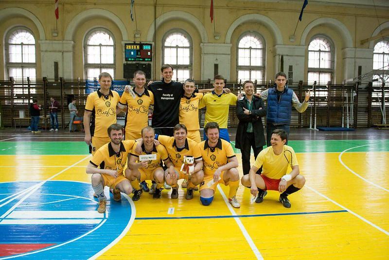 Спортивные проекты Студенческого совета ВШМ СПбГУ