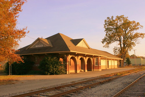 Mobile & Ohio Passenger Depot - Trenton, TN