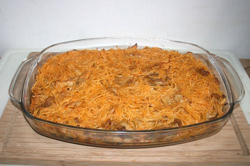 29 - Gyros spaghetti casserole - Finished baking / Gyros-Spaghetti-Auflauf - Fertig-gebacken