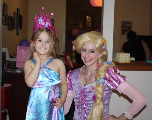 Lucy and Rapunzel