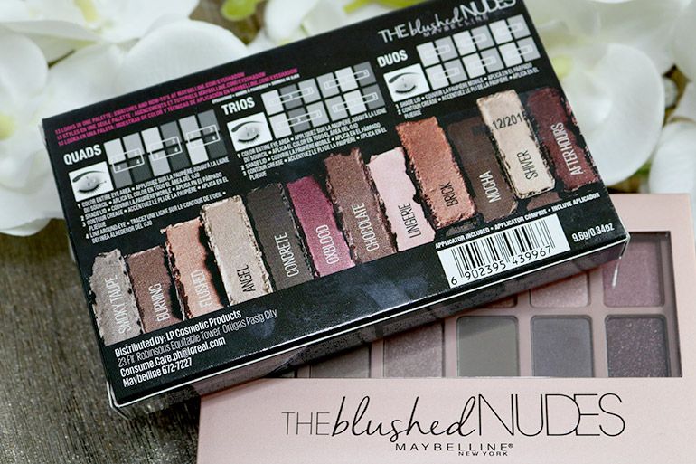 5 Maybelline Blushed Nudes Swatches Review - Gen-zel.com(c)