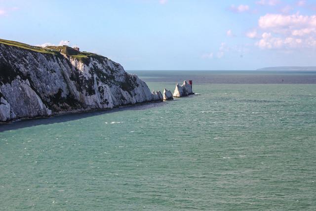 Isla de Wight en el Reino Unido