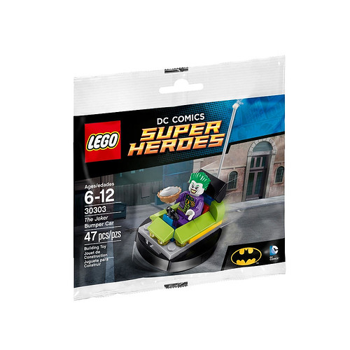 LEGO DC Comics Super Heroes The Joker Bumper Car (30303)