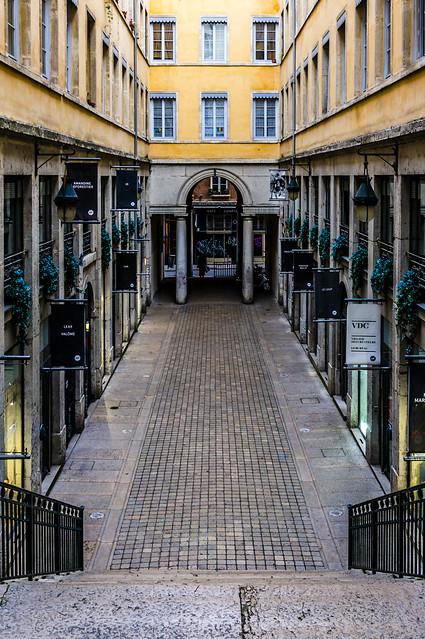 Passage Thiaffait, Croix-Rousse, Lyon, France