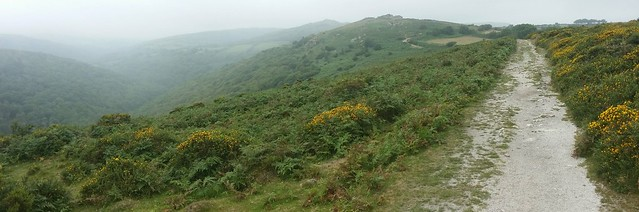 Mel Tor, from the Two Moors Way