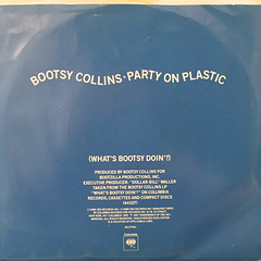 BOOTSY COLLINS:PARTY ON PLASTIC(WHAT'S BOOTY DOIN'?)(JACKET B)