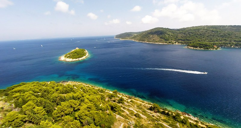 Small island, Vis, Croatia