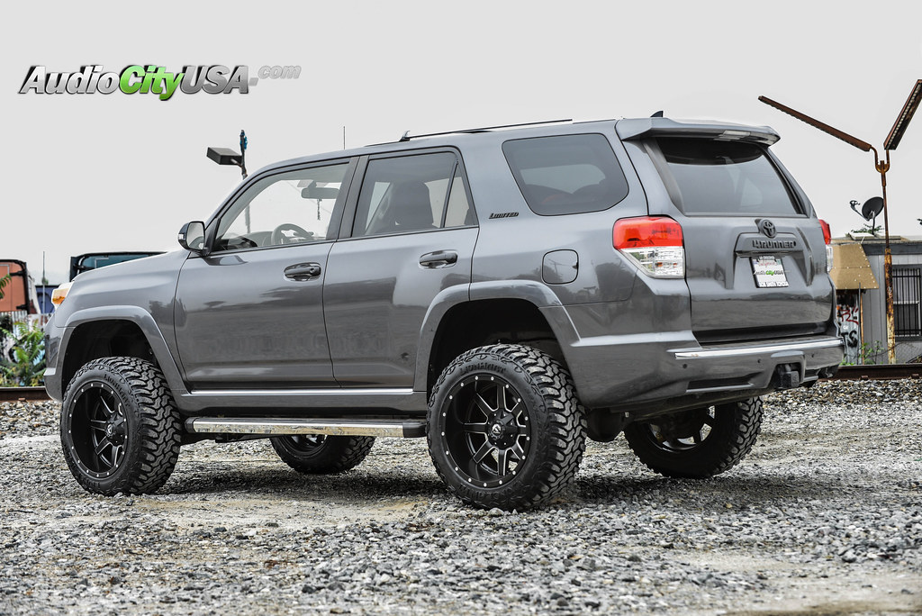 2015 Toyota 4 Runner 6 Quot Pro Comp Lift Kit 20x12 Fuel