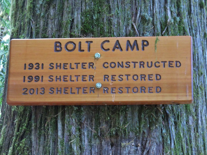 Bolt Camp sign