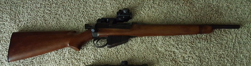 Lee Enfield No 4 - which way to go with it?