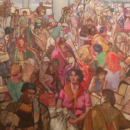 From Immigrants, F.H. Varley #toronto #artgalleryofontario #ago #fhvarley