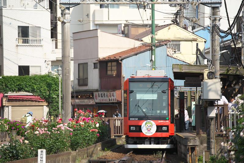 Tokyo Train Story 都電荒川線 2016年5月22日