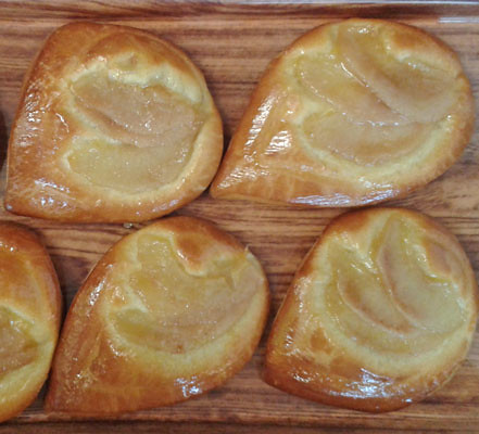Pear Brioche After