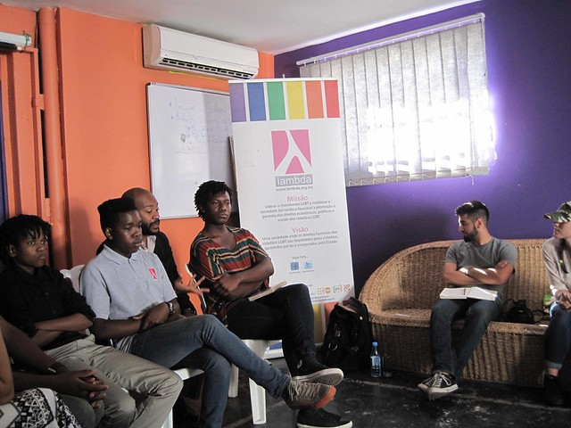 Members of LAMBDA Discuss the LGBT Movement in Mozambique with American Activists