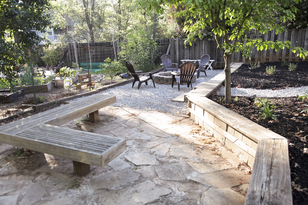 The Fire Pit | Backyard Makeover Reveal