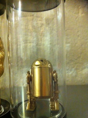 Vintage Star Wars Action Figures 24KT Gold Edition R2-D2