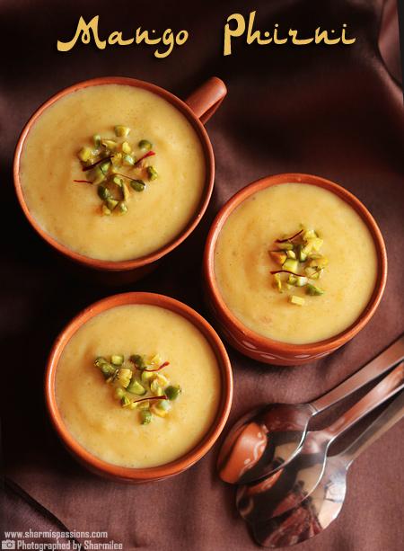 Mango Firni Recipe