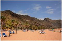 Пляж Териситас. Playa de Las Teresitas,San Andres.Tenerife