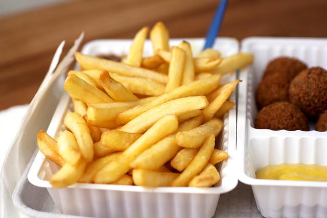 french fries @ aloha