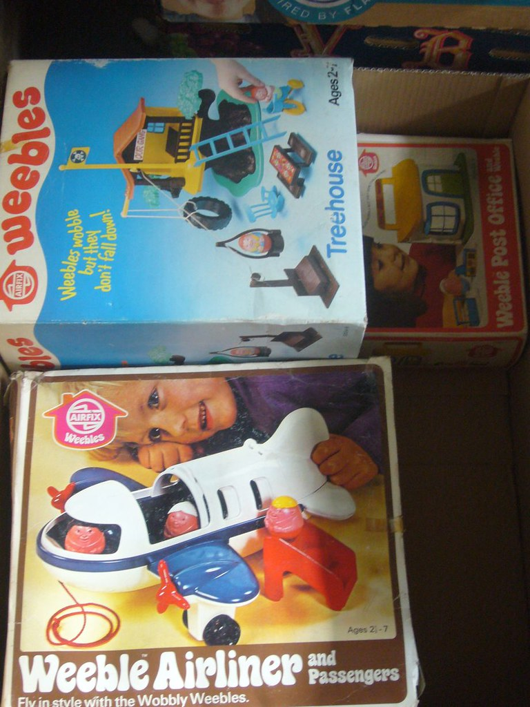The Frank Beech retro toy shop - Airfix Weebles