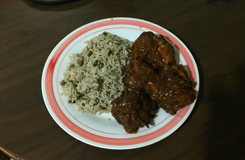 Pollo con arroz @ Santo Domingo