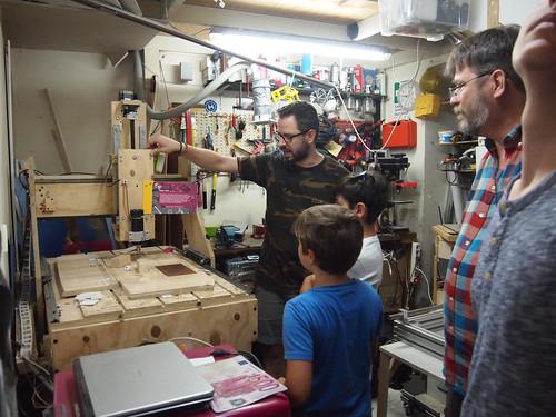 Hackspace Catania Homebuilt CNC