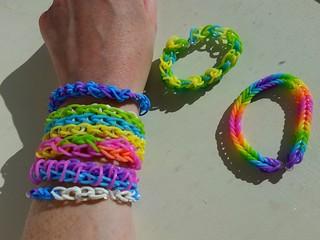 Rubber band bracelet (wo)man