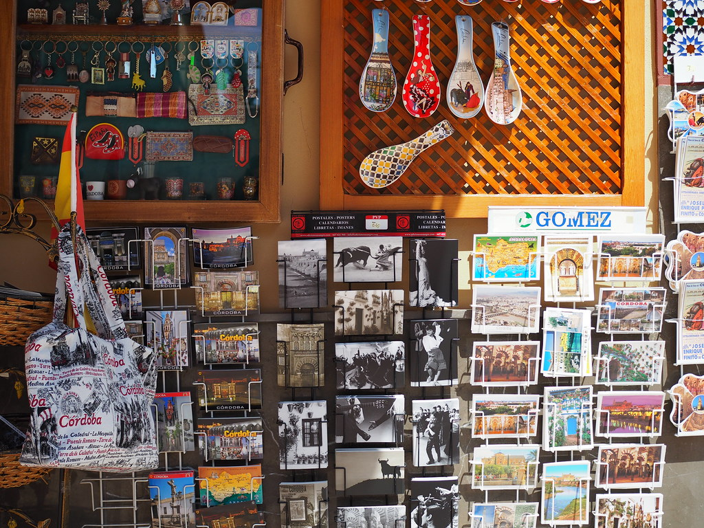 Shop at Mezquita, Córdoba