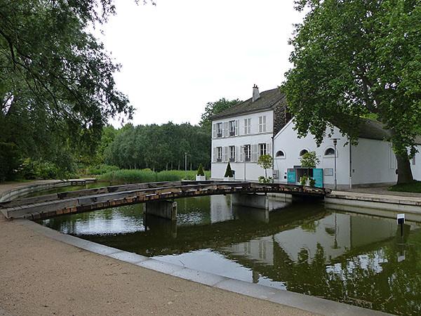 maison blanche à Bercy