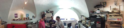 Hackspace Catania Mezzanine Panorama