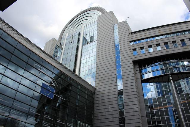 Le Parlement européen, à Bruxelles