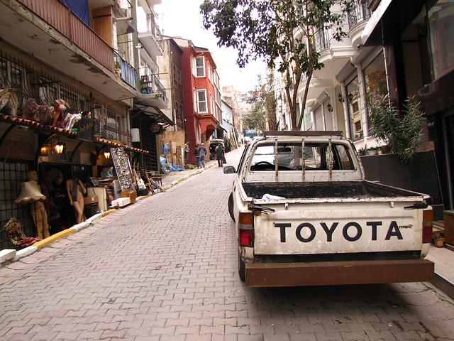 A street in Cukurcuma