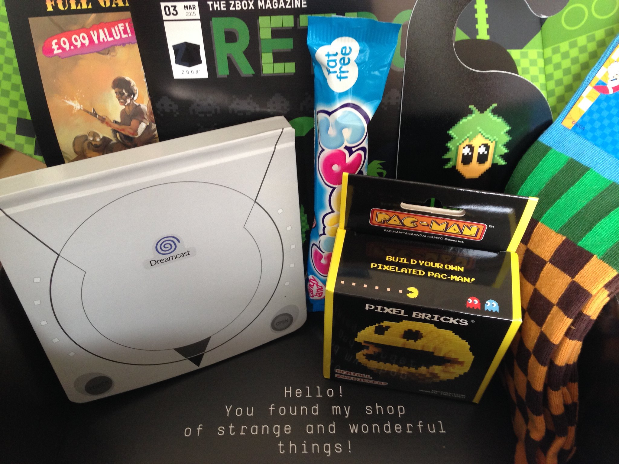 Retro Gaming ZBOX from Zavvi