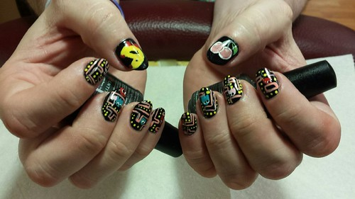 Ms. Pac-Man nails!