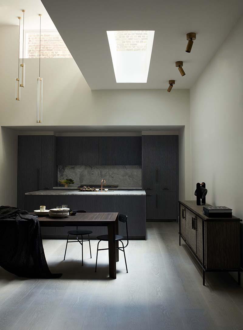 AMM blog | a dark kitchen with natural light
