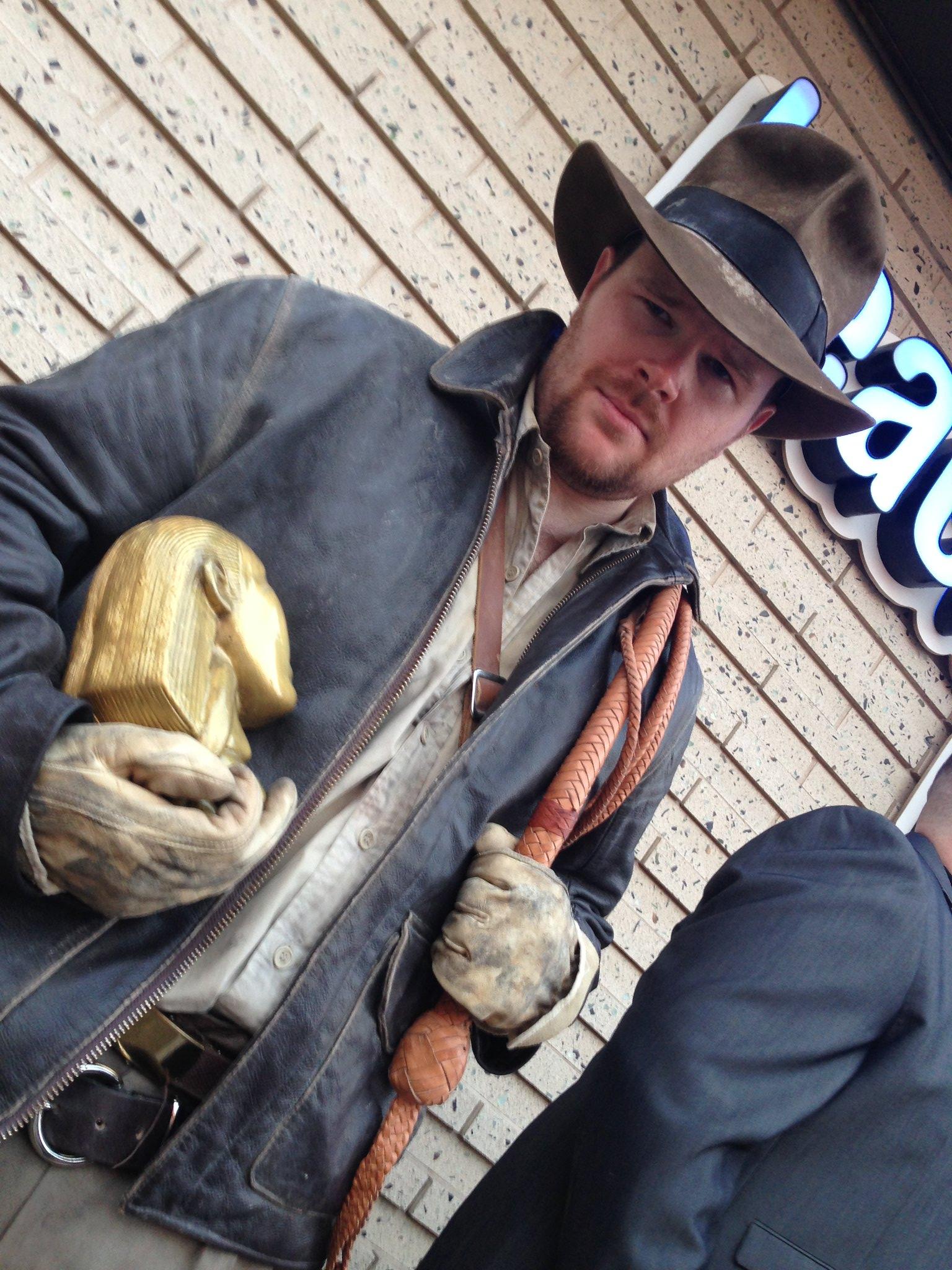 Blackpool Comic-Con Launch Party - Indiana Jones