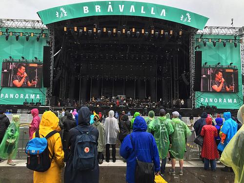 Konserten uppskjuten pga regn