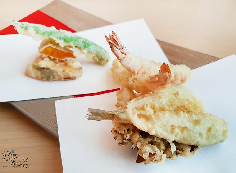 ginza tenkuni apricot lunch tempura