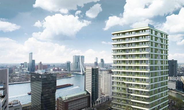 UpTown woontoren Rotterdam 2016