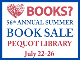 pequot_library_summer_book_sale
