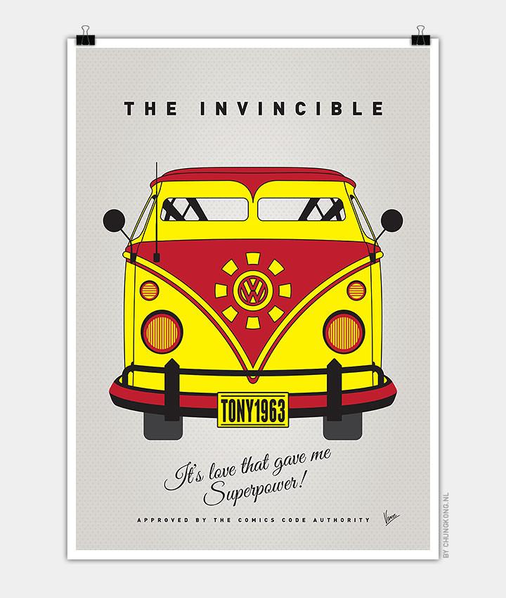 Volkswagen T1 superhero rides by Chungkong - Iron Man