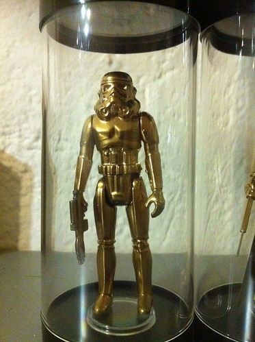Vintage Star Wars Action Figures 24KT Gold Edition Stormtrooper