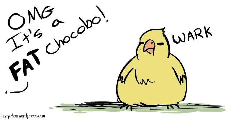 fat chocobo wark